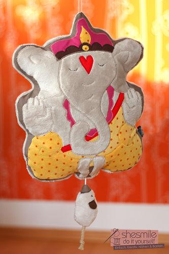 Makerist - Ganesha Spieluhr - Nähprojekte - 1