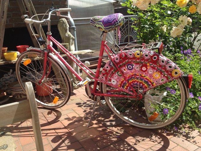 Makerist - Aufgehübschtes Fahrrad - Häkelprojekte - 1