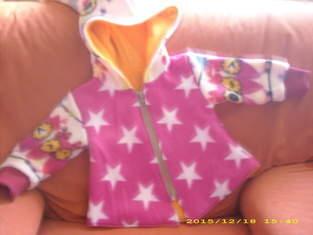 Und eine Zipfeljacke für meine Enkelin K.