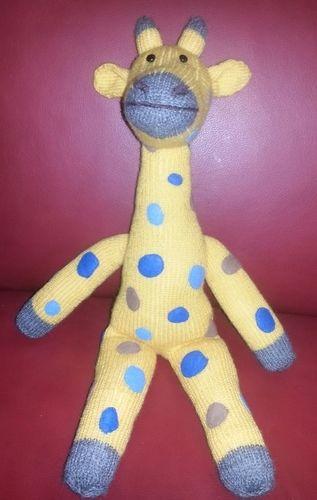 Makerist - Giraffe Amani von cats&hats - Strickprojekte - 1