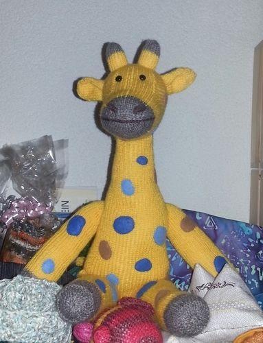 Makerist - Giraffe Amani von cats&hats - Strickprojekte - 2