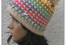 Makerist - farbenfrohe Wintermütze - 1