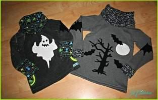 Halloweenpullover für meine beiden Jungs