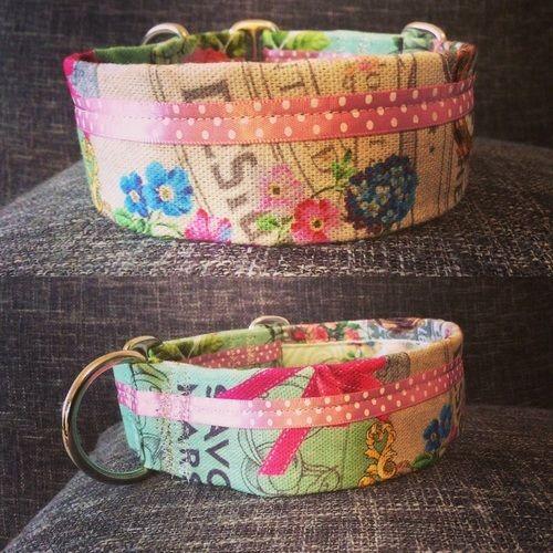 Makerist - Halsband Flower Power - Nähprojekte - 1