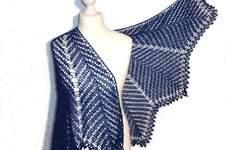 Makerist - Kentia Shawl, halbrundes Schultertuch - 1