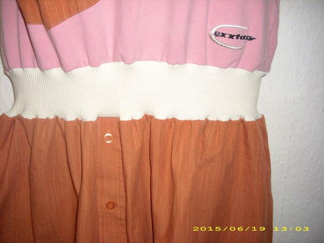 Makerist - upcyling Kleid aus einem Tshirt etwas Bundchenstoff und einem Herrenoberhemd - Nähprojekte - 2
