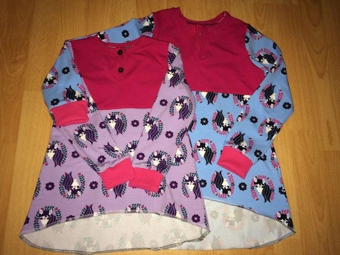 Makerist - Mädchen-Shirt - Nähprojekte - 1