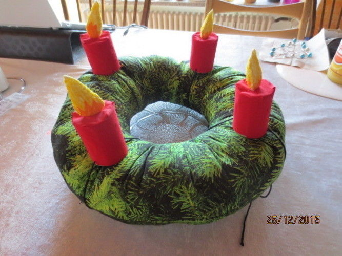 Makerist - Allergiker Adventskranz - DIY-Projekte - 1