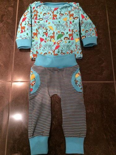 Makerist - Baby Hose und Baby-Shirt - Nähprojekte - 1