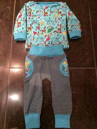 Makerist - Baby Hose und Baby-Shirt - 1