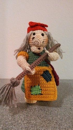 Makerist - die freundliche Hexe - Häkelprojekte - 1