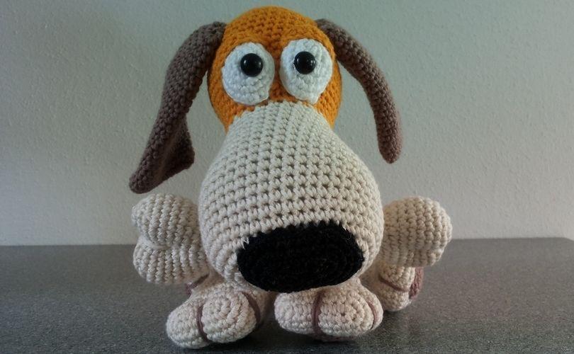 Makerist - Hundchen mit Knochen - Häkelprojekte - 2