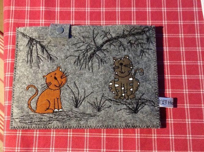 Makerist - EBook Reader und Handytasche  - Textilgestaltung - 1