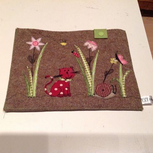 Makerist - EBook Reader und Handytasche  - Textilgestaltung - 3