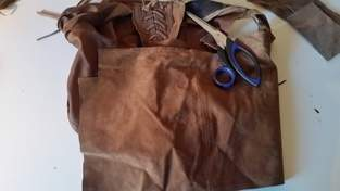 Makerist - Gürteltasche Leder - 1