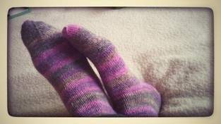Makerist - Meine ersten Socken :) - 1