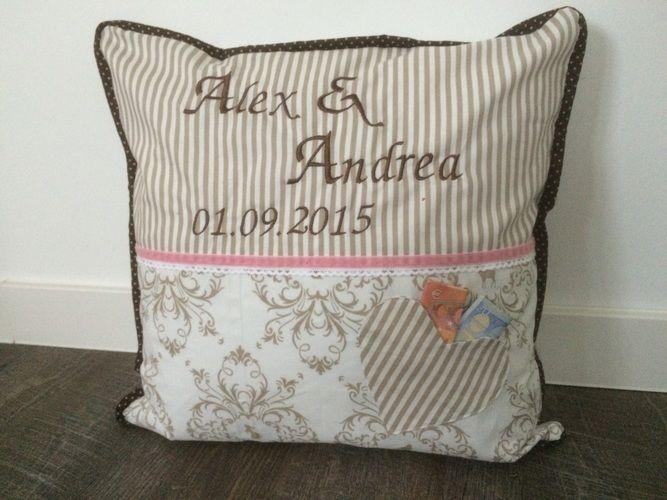 Makerist - Personalisiertes Kissen zur Hochzeit - Nähprojekte - 1