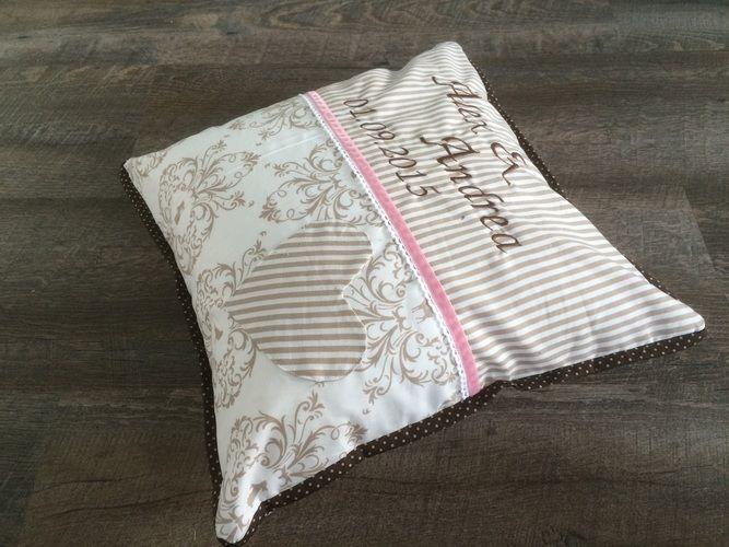 Makerist - Personalisiertes Kissen zur Hochzeit - Nähprojekte - 3