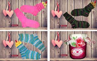 Makerist - Bunte Sockenparade - 1
