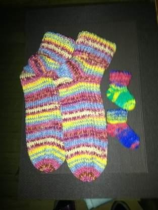 Makerist - Socken für Mama und Baby😍 - 1