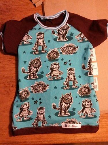Makerist - Raglan Shirt zum 2. Geburtstag  - Nähprojekte - 1