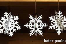 Makerist - Schneeflocken Deko - geplottet aus SnapPap - 1