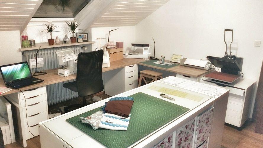 Makerist - PädtchWork Kreativatelier #herzensprojekt - Werkzimmer - 1