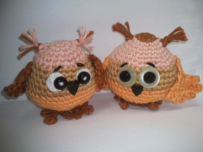 Makerist - Baby Owl - Häkelprojekte - 1