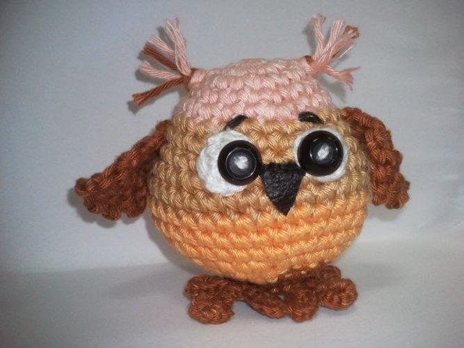 Makerist - Baby Owl - Häkelprojekte - 2