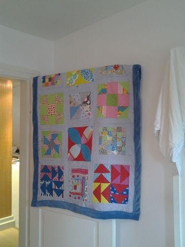 Makerist - Jahres-Reste-Quilt 2015 - Patchwork-Projekte - 1