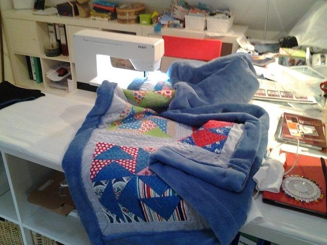 Makerist - Jahres-Reste-Quilt 2015 - Patchwork-Projekte - 2