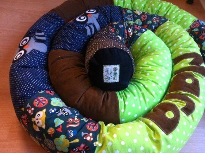 Makerist - Riesige Wald-Tier-Bettschlange - Nähprojekte - 2