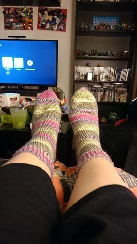 Makerist - Socken für meine Mama aus Austermann Step 6 Wolle  - Strickprojekte - 1