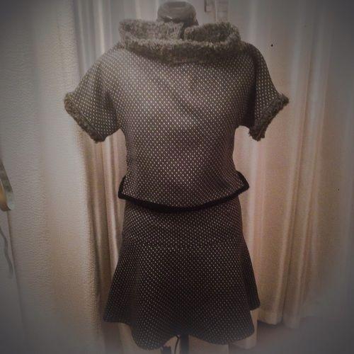 Makerist - Petits points ensemble femme en laine et polyester  - Créations de tricot - 1