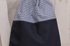 Makerist - Turnbeutel,Rucksack in blau - 1