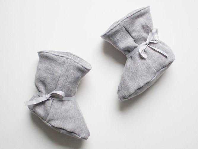 Makerist - Kuschlige Babystiefel  - Nähprojekte - 1