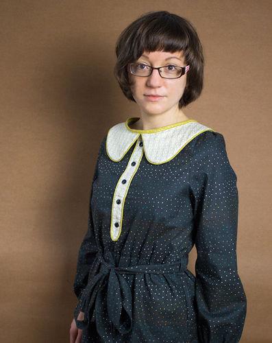 Makerist - Mein Weihnachtskleid 2015 - Nähprojekte - 2