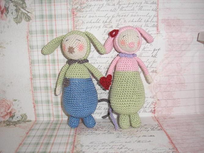 """Makerist - Modèle """"Olive et Violette"""", à ma sauce :-)  - Créations de crochet - 1"""
