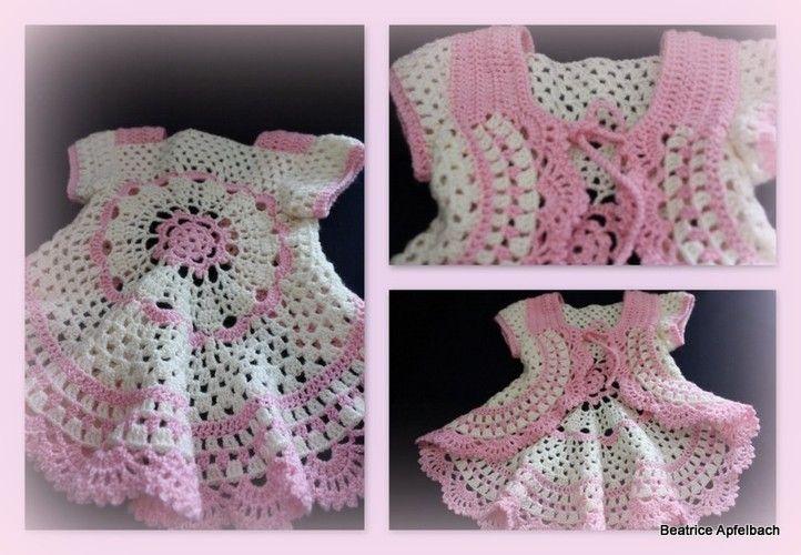 Makerist - ..... klitzekleine Kreisjacke ...... Für eine kleine Prinzessin  - Häkelprojekte - 1