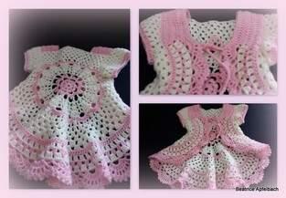 Makerist - ..... klitzekleine Kreisjacke ...... Für eine kleine Prinzessin  - 1