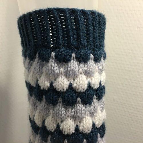 "Makerist - Socken ""Bubbles"" - Strickprojekte - 2"