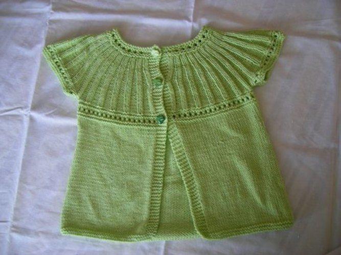 Makerist - Gilet enfant - Créations de tricot - 1