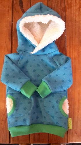 Makerist - erster Versuch eines Hoodies.. ich glaub, ich brauch ne Overlock. das hat so Spaß gemacht!  - Nähprojekte - 1