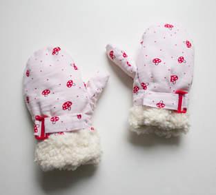 Makerist - Fliegenpilz-Handschuhe für  meine kleine Dame - 1