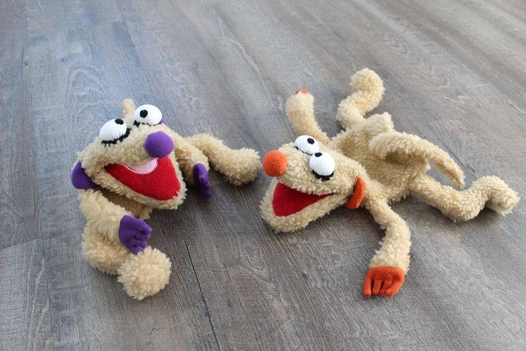 Makerist - Jan und Henry - das Weihnachtsgeschenk Nr. 1 als Handpuppe - Nähprojekte - 1