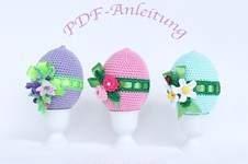 Makerist - Ostereier mit Blumen - 1