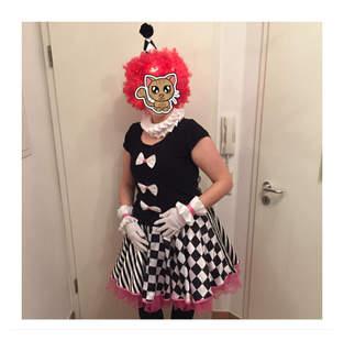 Kostüm Harlekin