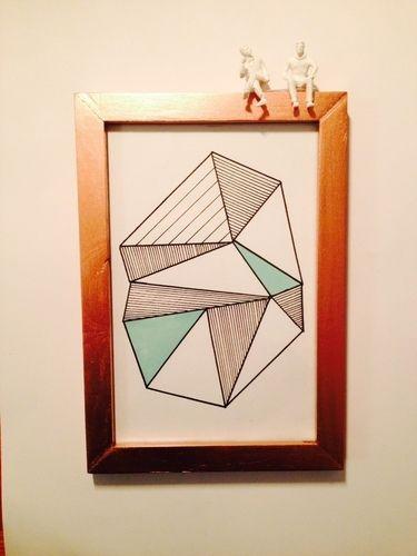 Makerist - Papier // Geometrie - DIY-Projekte - 1