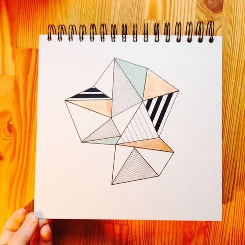 Makerist - Papier // Geometrie - DIY-Projekte - 3