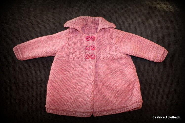 Makerist - kuschelige Babyjacke in Gr. 74 - Strickprojekte - 2